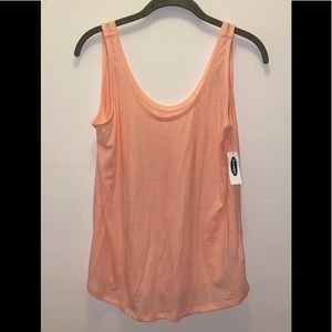 Old Navy SZ Small Peach Color Tank Top NWT Loose